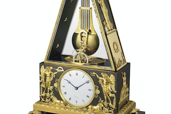Breguet No. 449 Clock With Constant Force Escapement