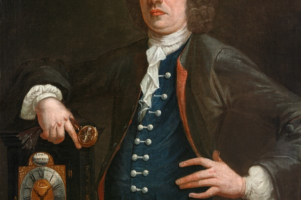 Edward Scrivener, a London clockmaker. Scrivener was apprenticed through the Worshipful Company of Clockmakers in 1727.