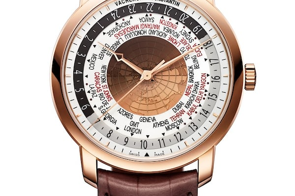 Vacheron Traditionelle World Time watches and wonders 2015