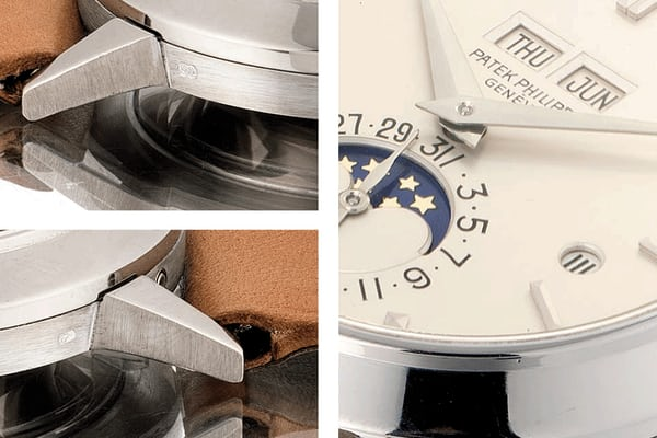 Patek Philippe Reference 3450 Perpetual Calendar In White Gold