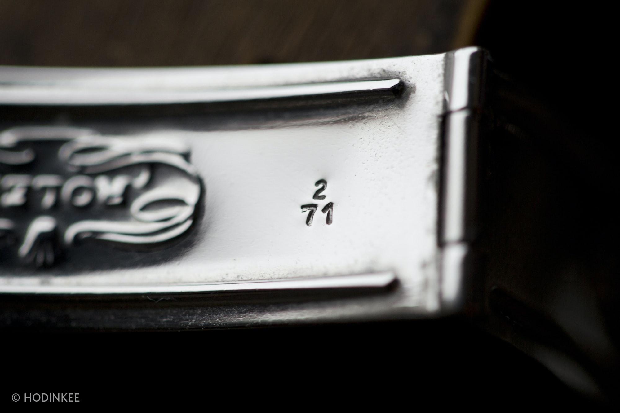 Rolex clasp for bracelet 7205