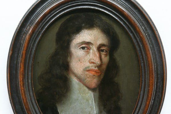 Miniature portrait believed to be Edward East ( c. 1602 – 1696 ).