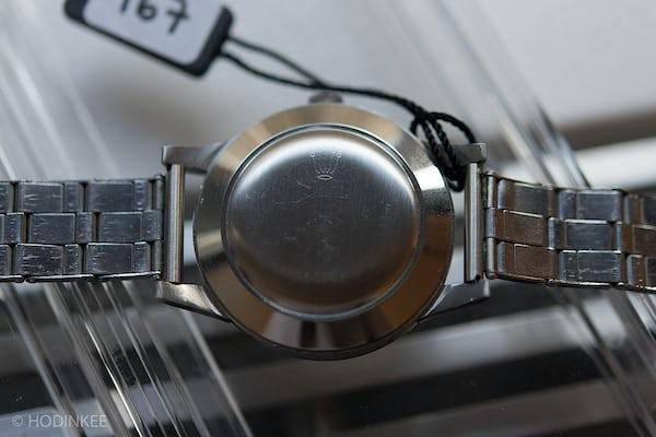 Rolex 8171 caseback