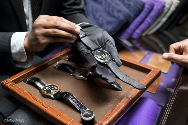 Ralph Lauren HODINKEE event for RL Automotive Skeleton Timepiece