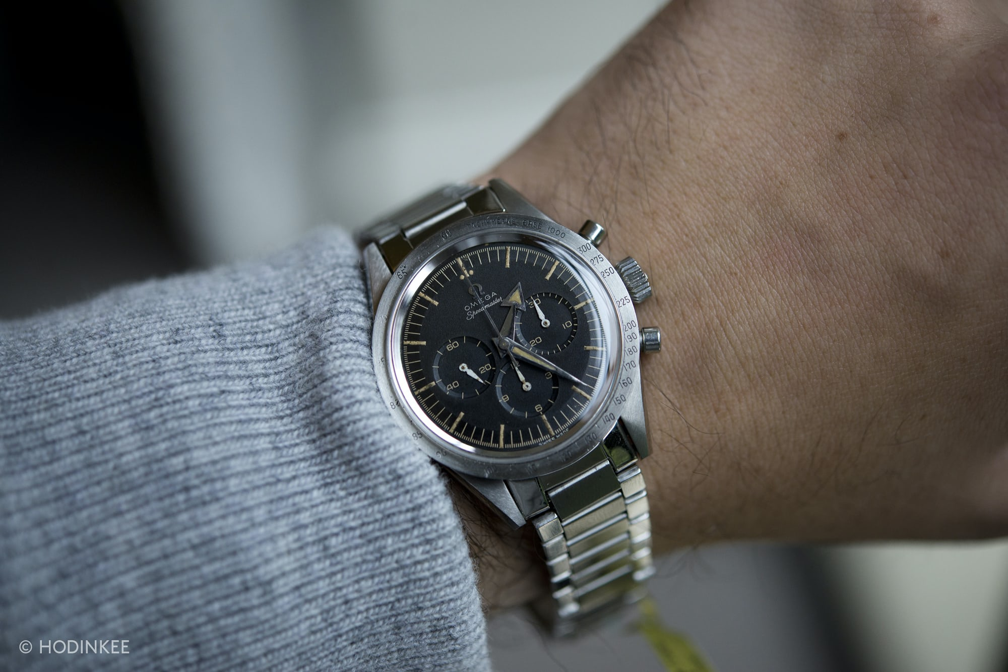 a3a3e840f626a Hands-On  The Omega Speedmaster Reference 2915-1 From Tonight s Omega  Speedmaster 50 Sale (Live Pics