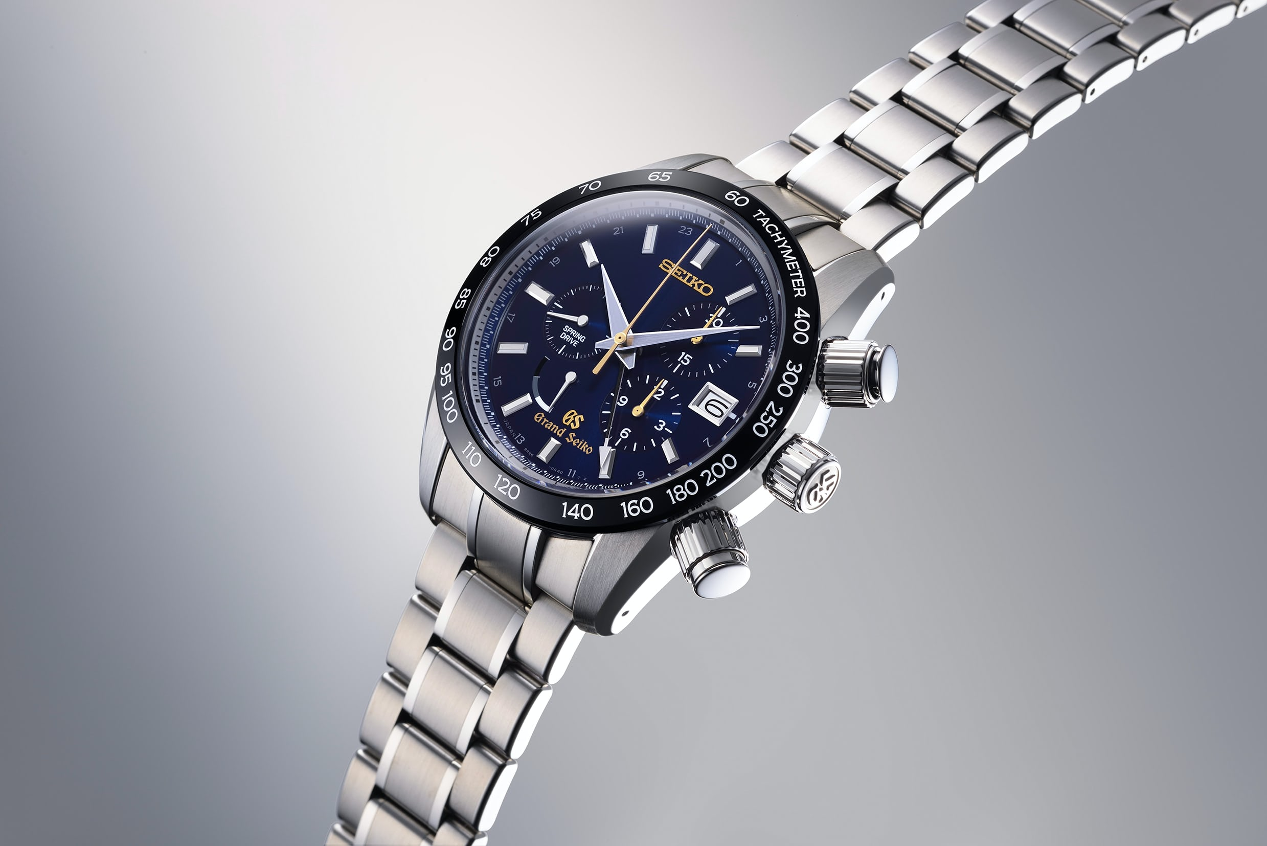 grand spring anniversary chronograph rails edition drive watches seiko ixlib articles limited