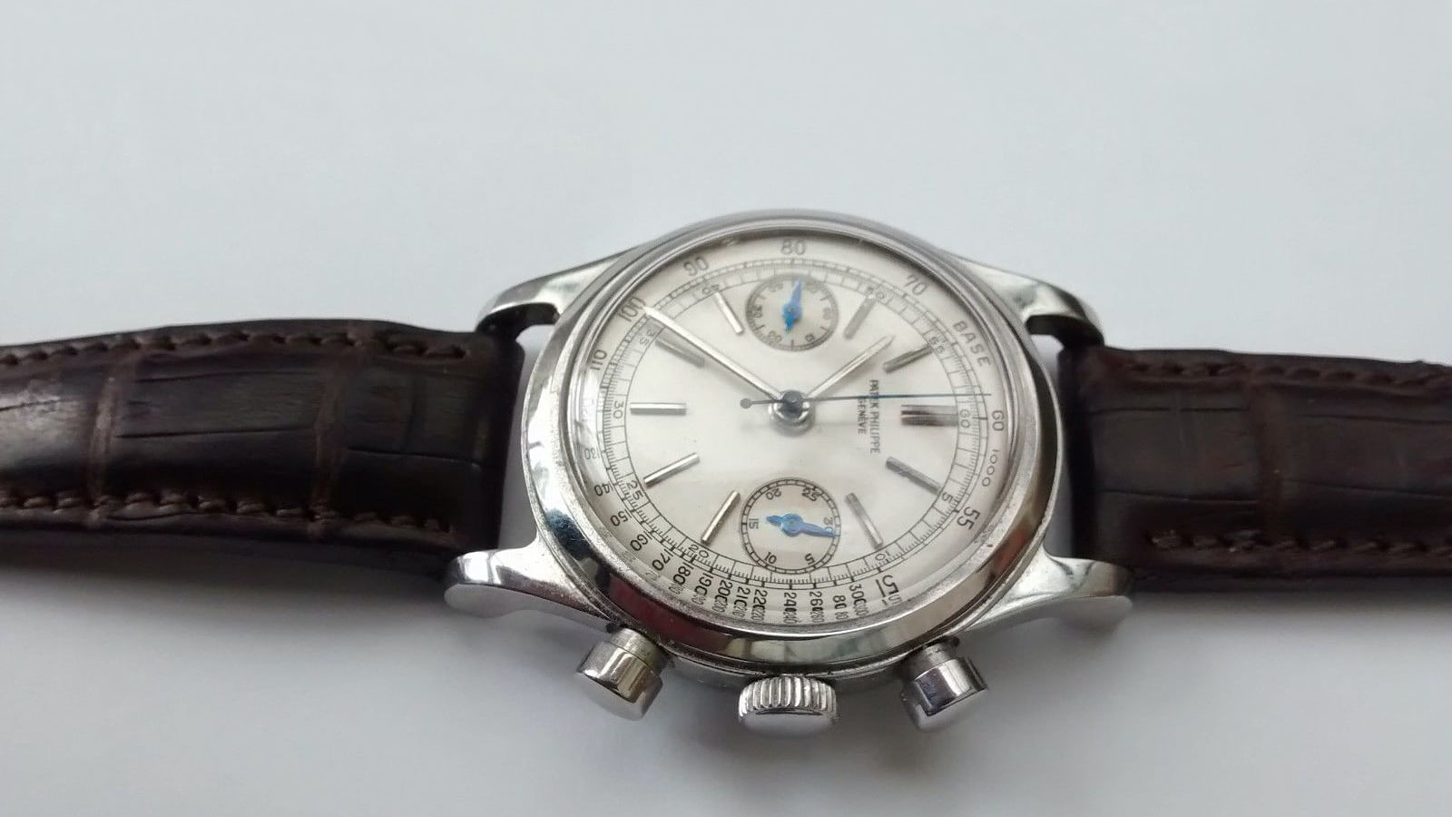 2f87841b00c Bring a Loupe  Completely Fake Patek Philippe 1463 In Steel On eBay For  Over  25