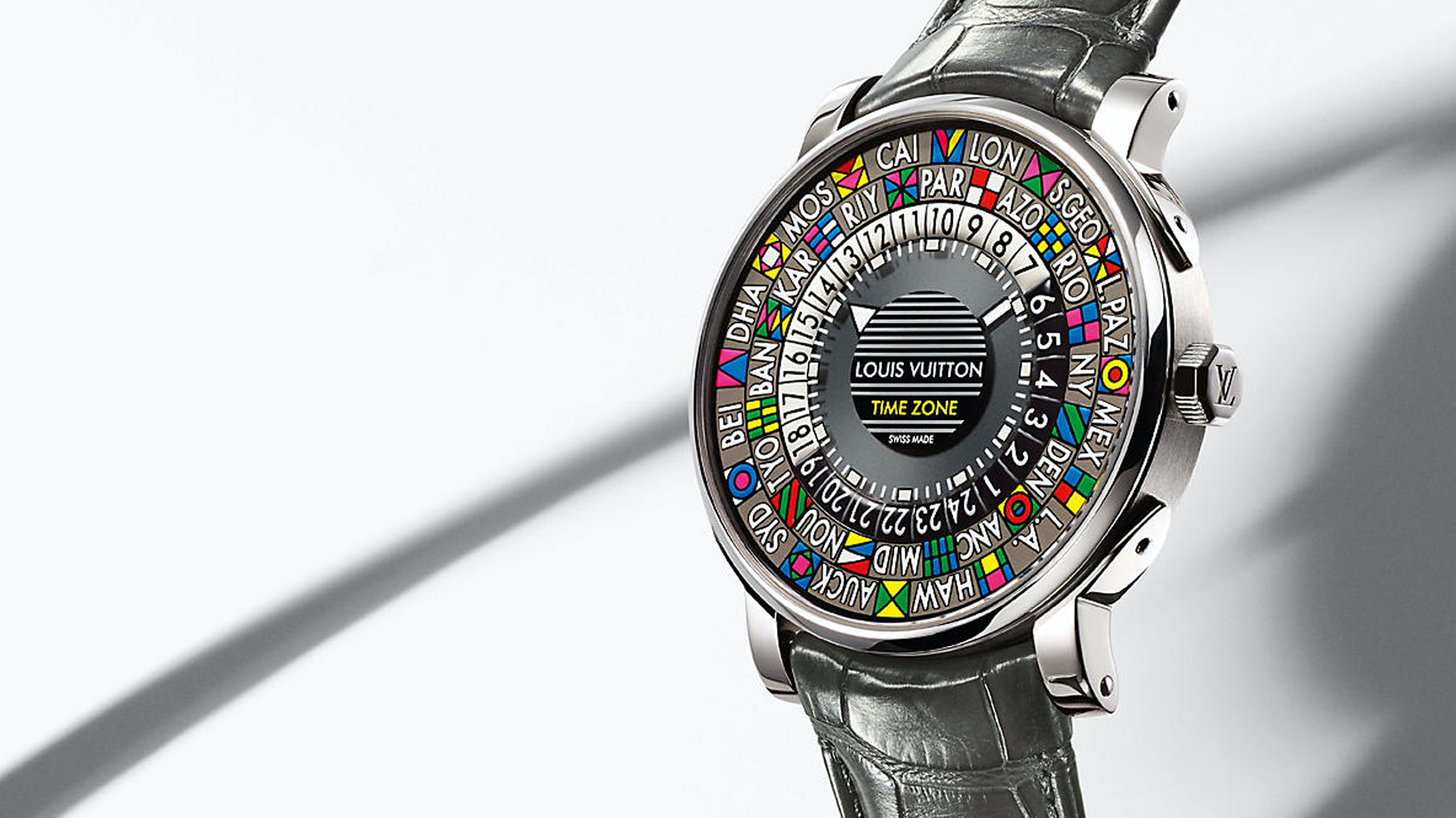 The Escale Time Zone, A New Manufacture World-Timer by Louis Vuitton