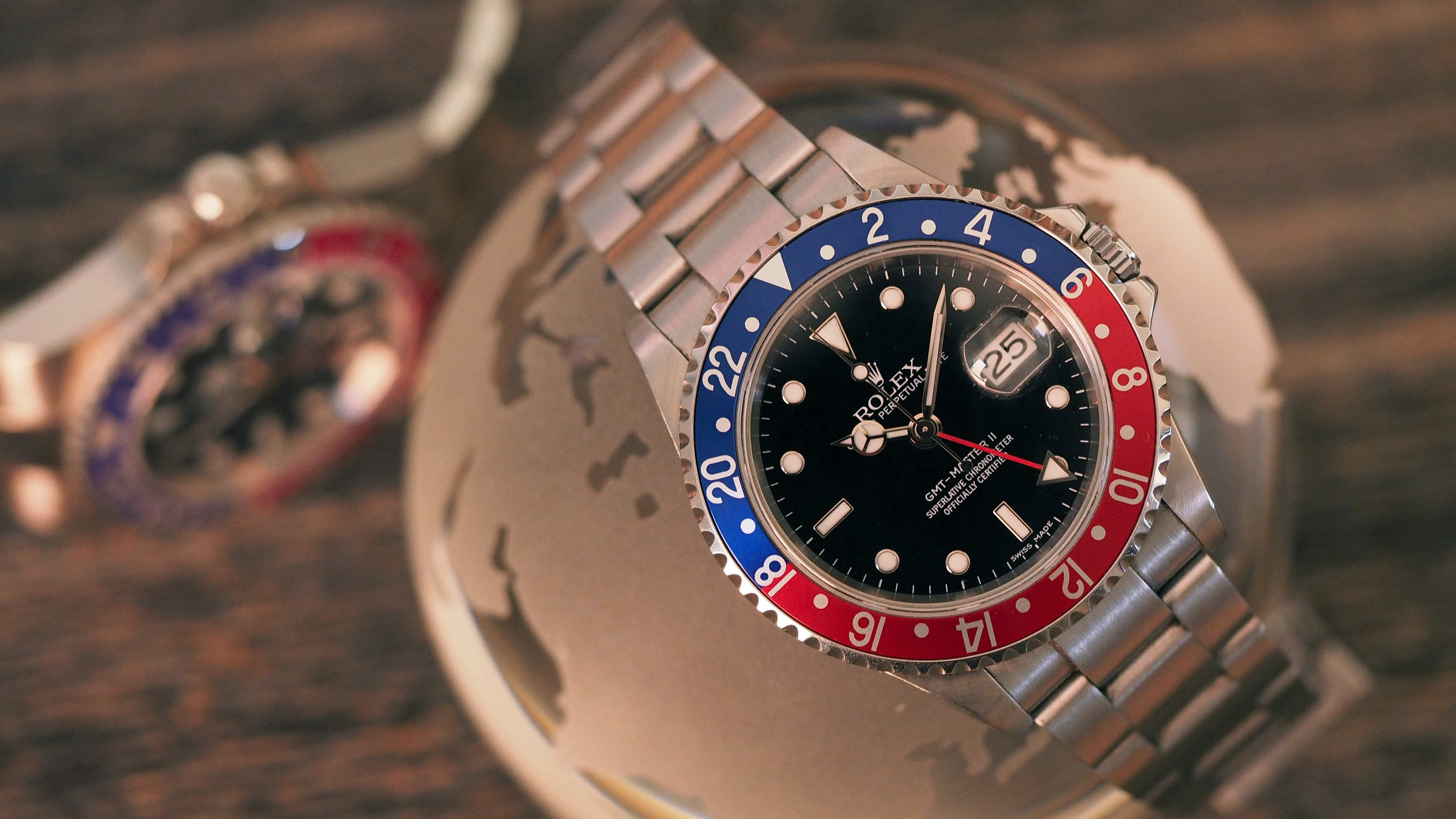 Hands-On: The Rolex GMT Master II Pepsi: Old And New Compared
