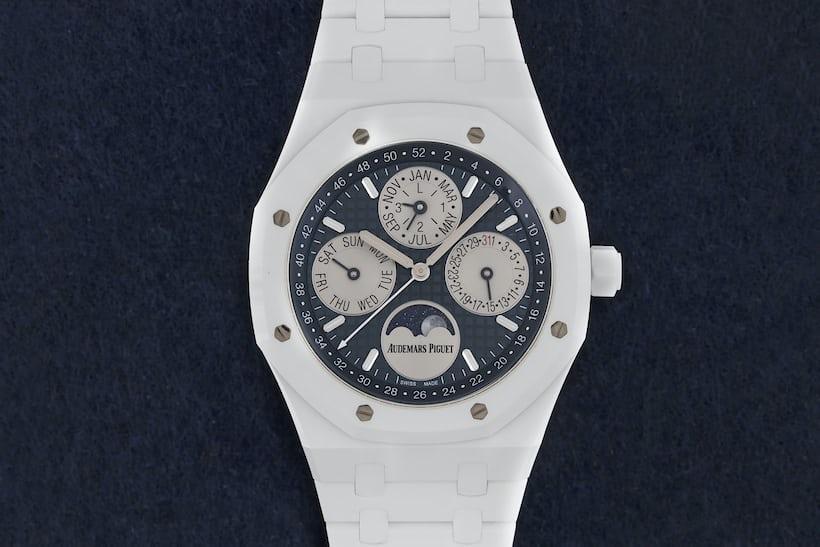 White Royal Oak watch