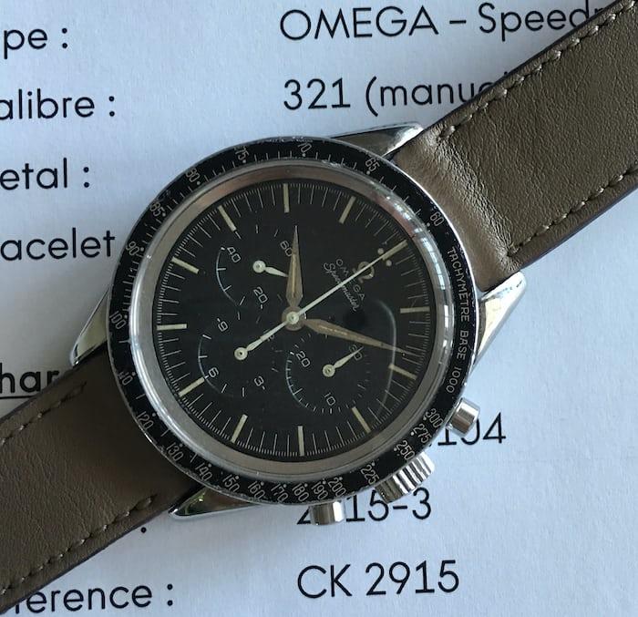 Omega Speedmaster Reference 2915-3
