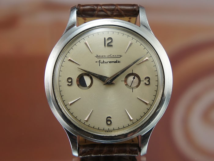 A Jaeger-LeCoultre Futurematic Reference E502, With Porthole Indicator