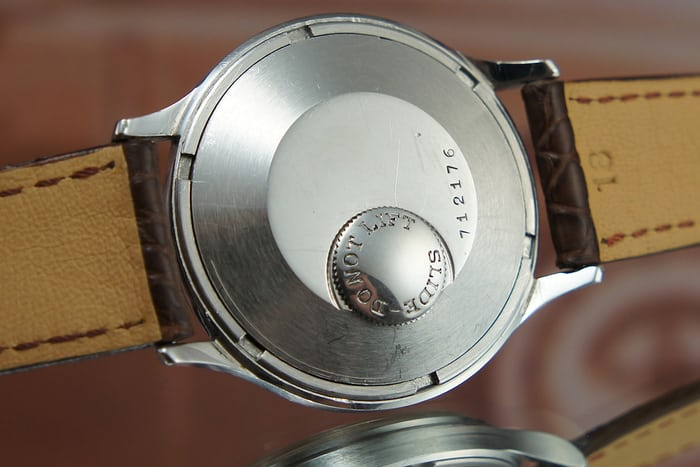 Jaeger-LeCoultre Futurematic Reference E502, Case back