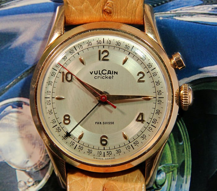 Vulcain Cricket Watch