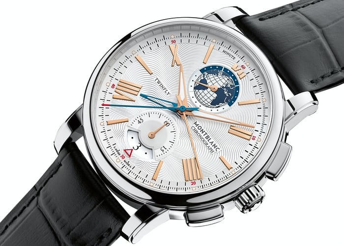The Montblanc TwinFly Chronograph 110 Years