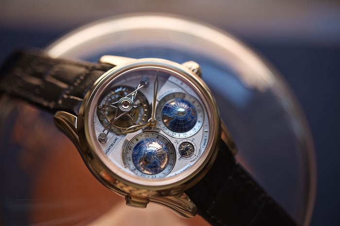 Montblanc Collection Villeret Tourbillon Cylindrique Geospheres Vasco da Gama