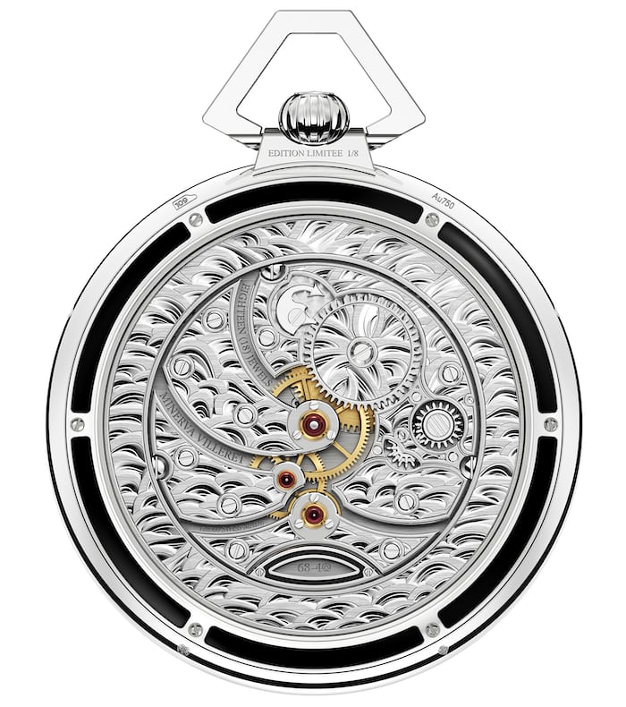 Villeret Tourbillon Cylindrique Pocket Watch 110 Years