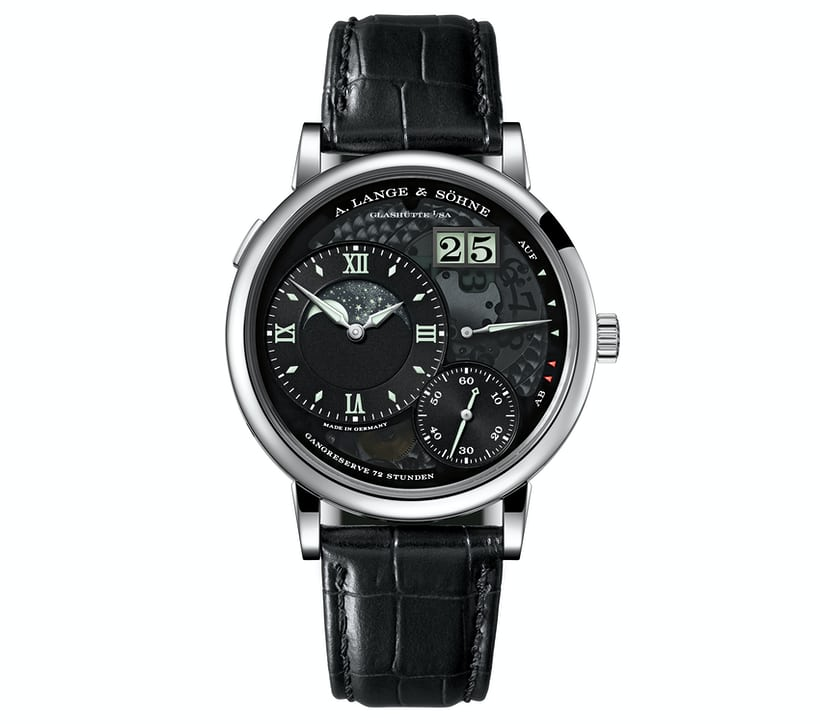 Lange 1 Moonphase Lumen
