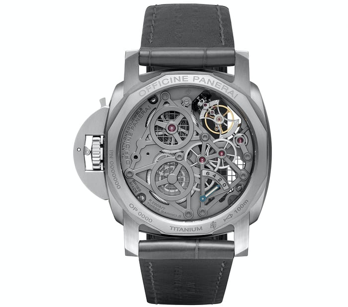 Panerai Luminor Skeletonized Tourbillon GMT