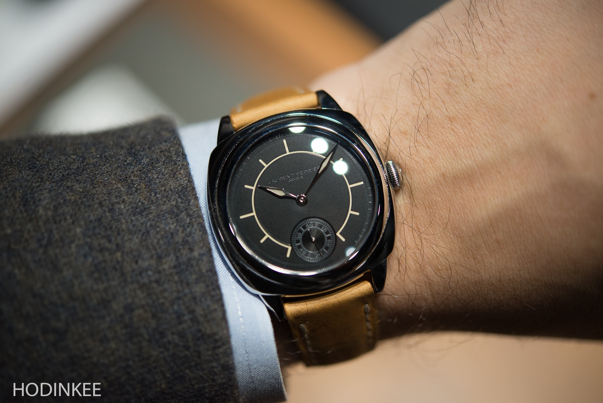 Hands-On: The Laurent Ferrier Galet Square And Traveller ...