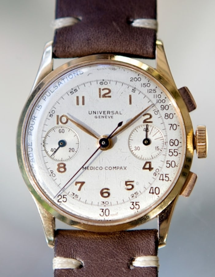 Universal Geneve Medico-Compax Reference 12445