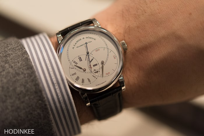 A. Lange & Söhne Richard Lange Jumping Seconds