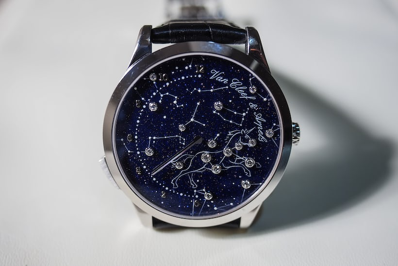 van cleef and arpels midnight nuit lumineuse dial
