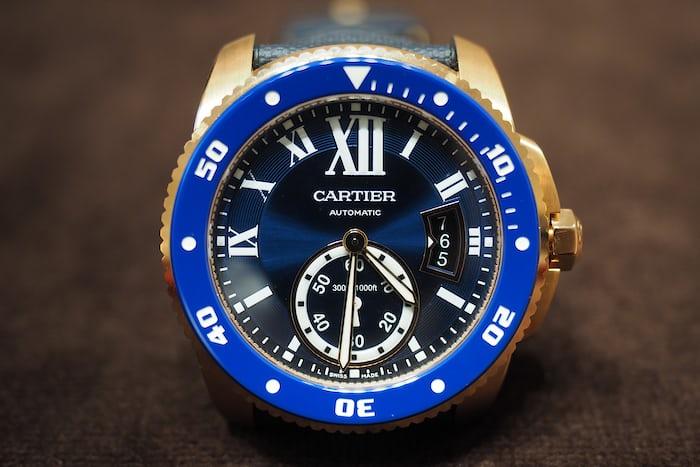 Cartier Gold Diver