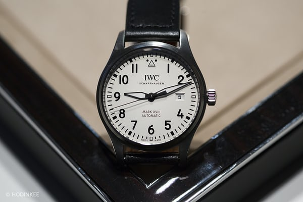 iwc mark xviii black dial