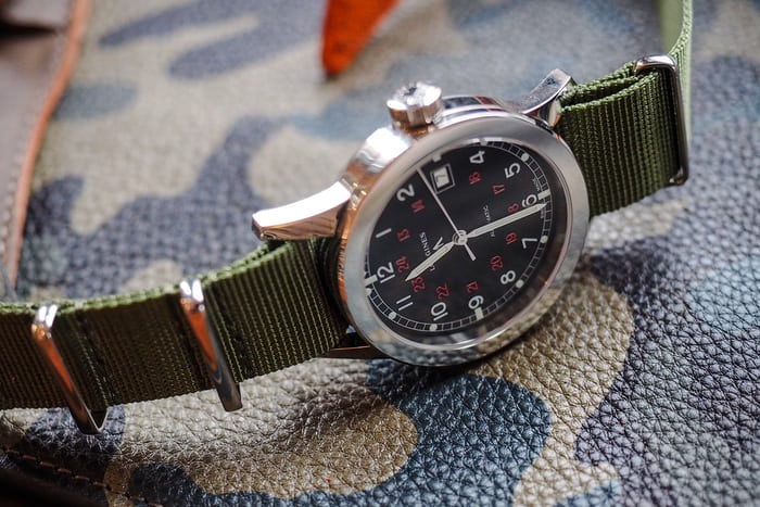 longines cosd case detail