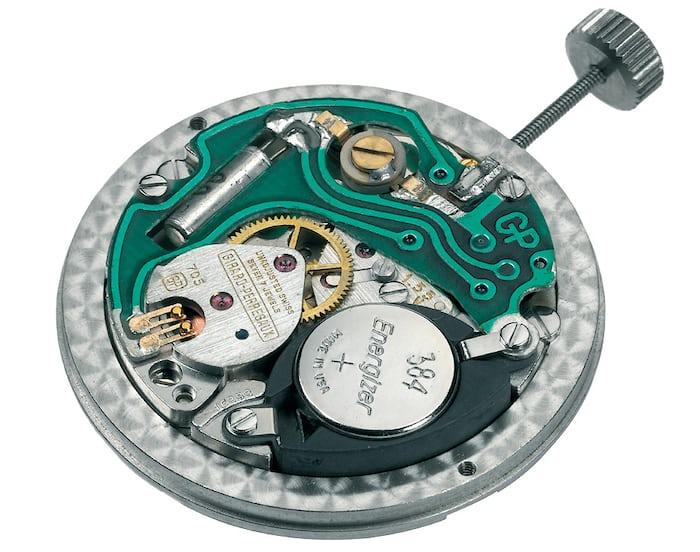 GP quartz caliber 705