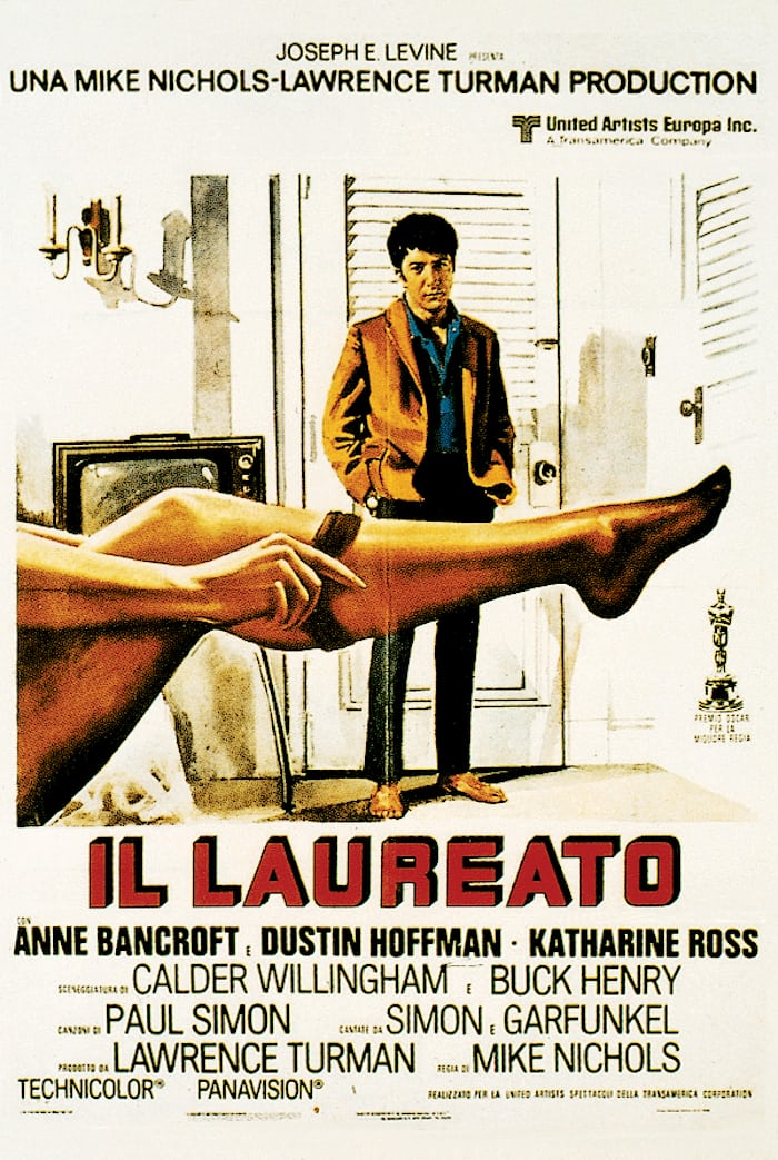 Promotional Poster for The Graduate Film
