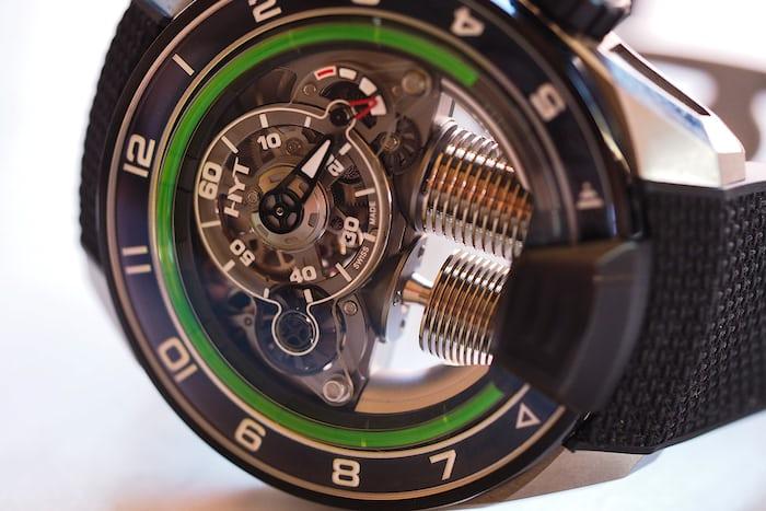 HYT Metropolis Dial closeup