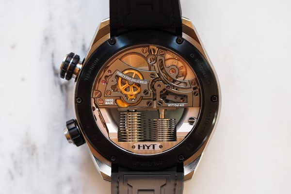 HYT H4 Metropolis, movement