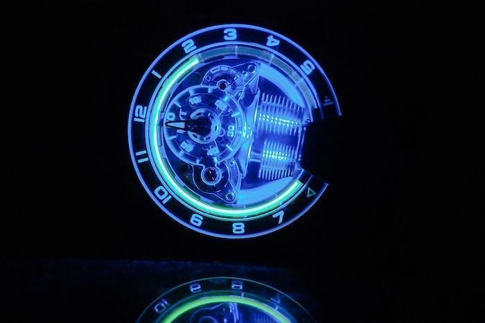 HYT H4 Metropolis Limited Edition LED shot