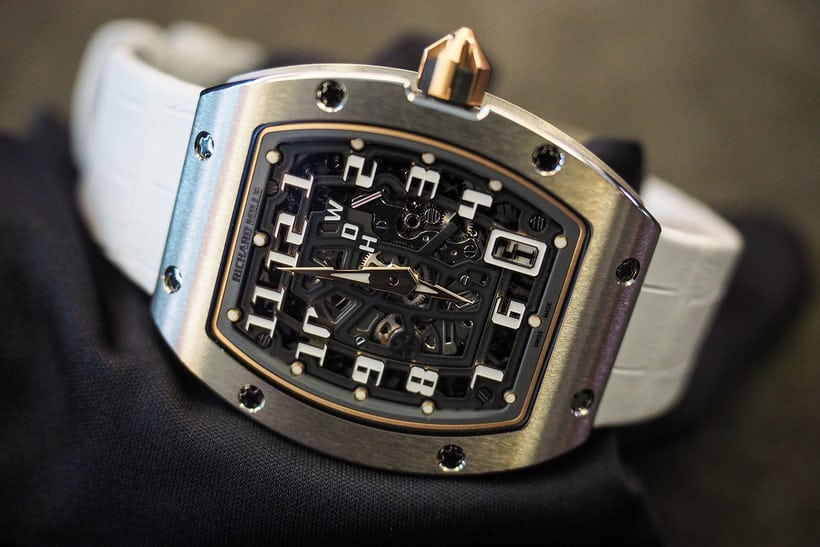 richard mille rm 67-01 lifestyle