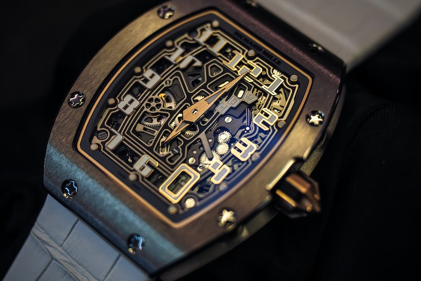 richard mille rm 67-01 dial