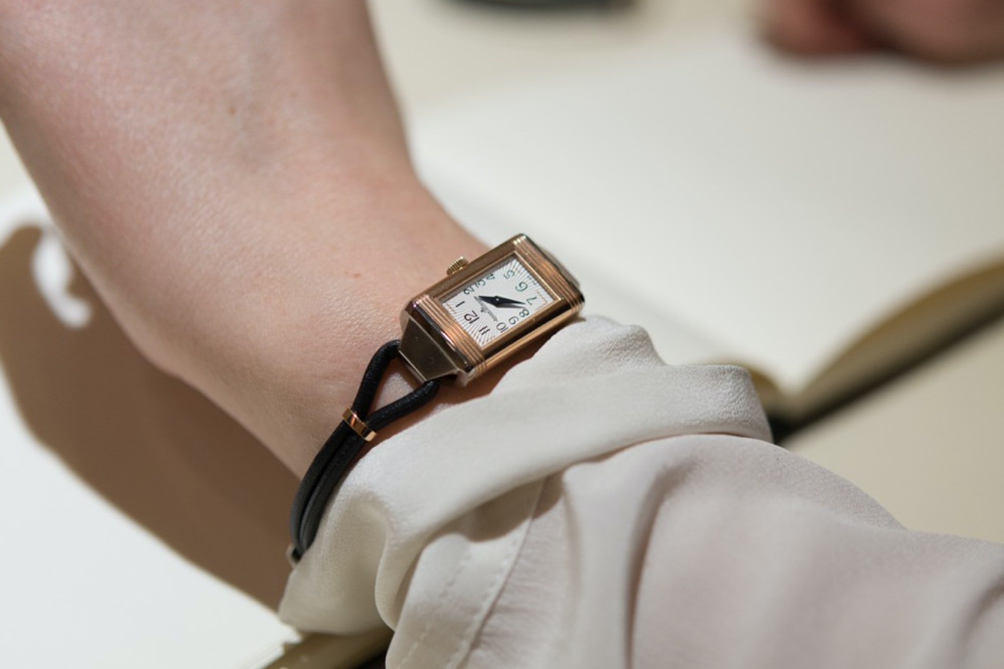Jaeger LeCoultre Ladies Reverso Cordonnet Editors' Picks: The HODINKEE Valentine's Day 2016 Watch Gift Guide, Because Watches Won't Give You Cavities Editors\' Picks: The HODINKEE Valentine\'s Day 2016 Watch Gift Guide, Because Watches Won\'t Give You Cavities Cordonnet