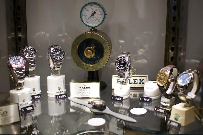 The Rolex Corner
