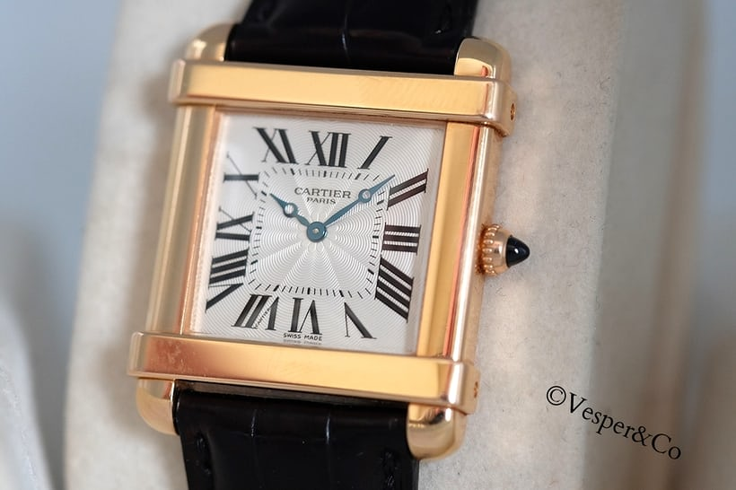 Cartier Tank Chinoise Collection Privee