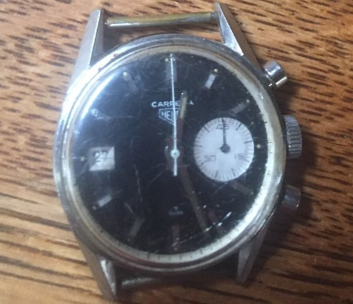 Heuer Dato 45 Reference 3147N