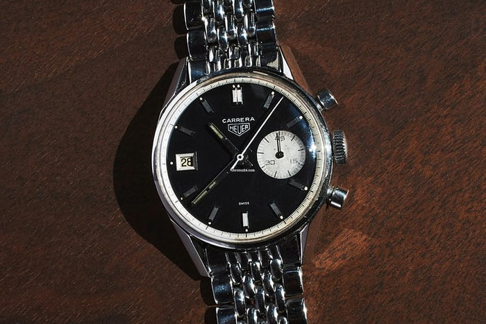 Heuer Dato 45 Reference 3147N perfect