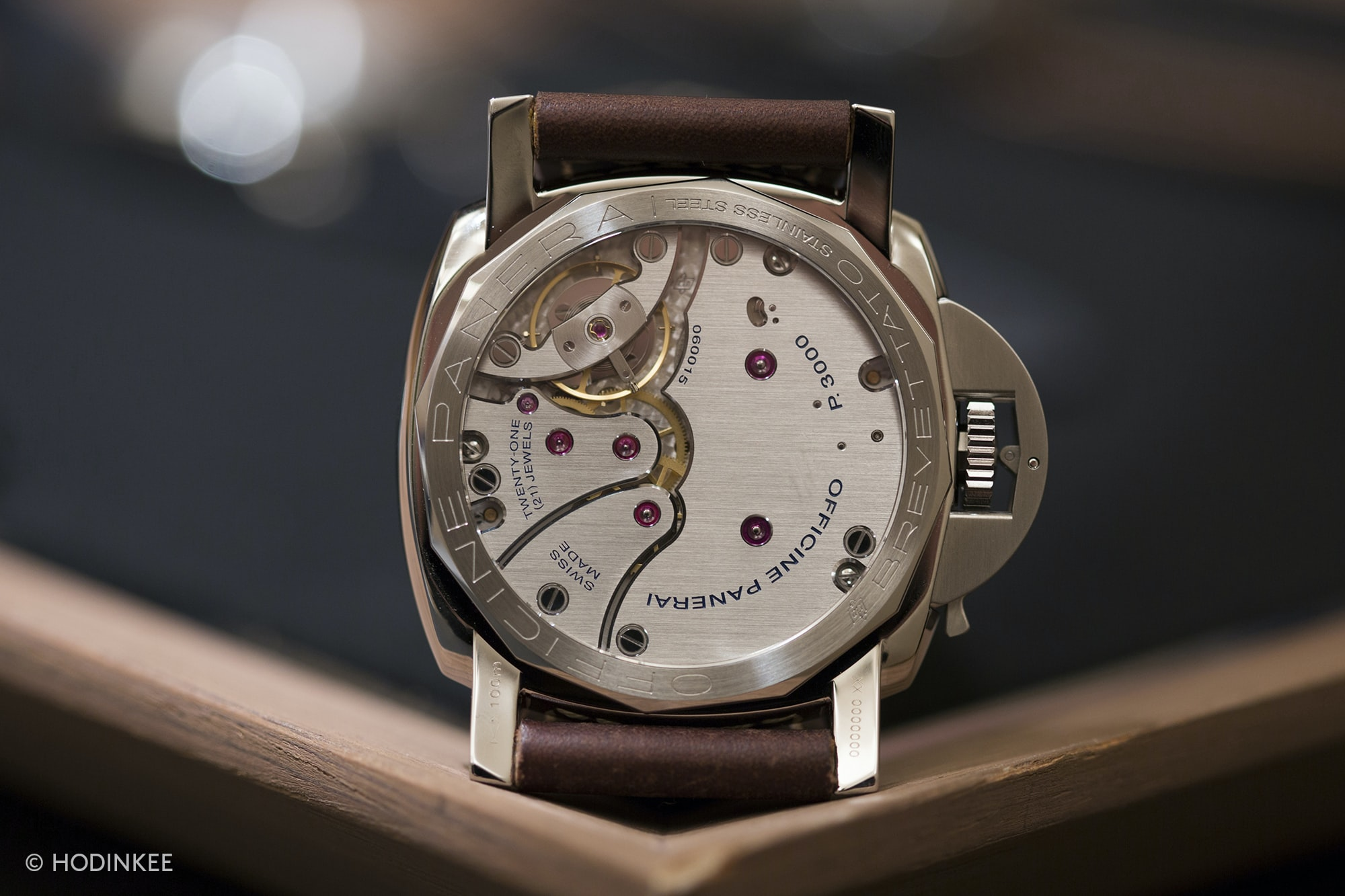 Hands-On: The Panerai Radiomir 1940 3 Days PAM 662 And Luminor 1950 PAM 663 Hands-On: The Panerai Radiomir 1940 3 Days PAM 662 And Luminor 1950 PAM 663 Panerai Luminor 1950 PAM 663 back 2