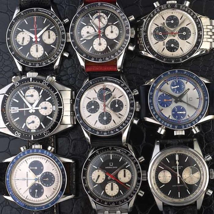 Universal Geneve chronographs