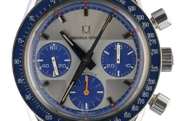 Universal Geneve Compax Blue