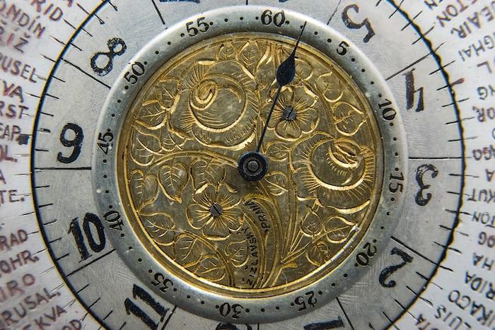 woodrow wilson watch dial closeup