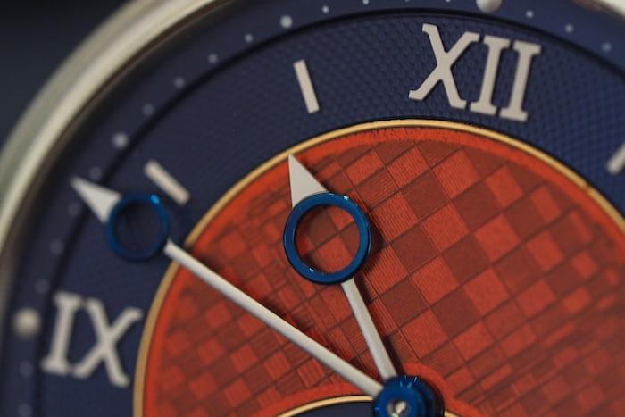 Voutilainen GMT-6 Platinum Unique Piece dial