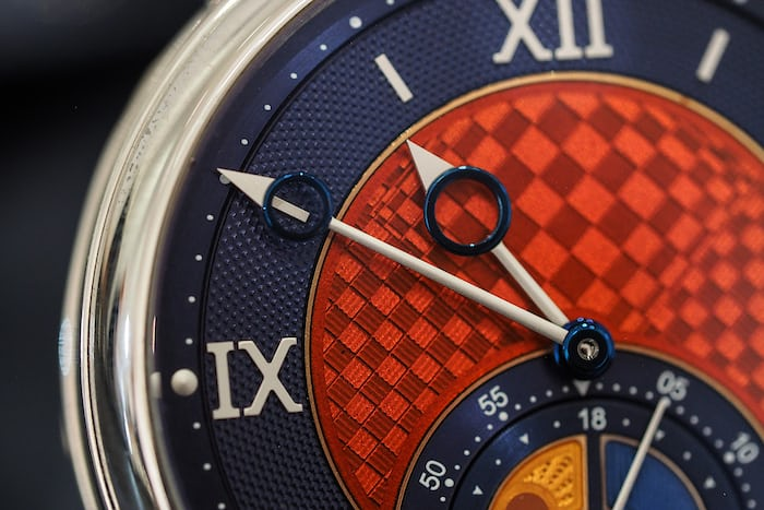 Voutilainen GMT-6 Platinum Unique Piece grand feu enamel