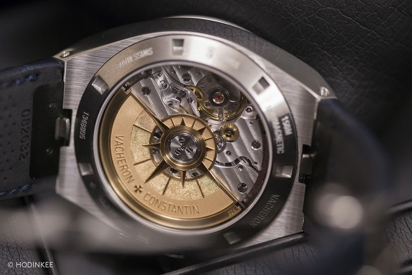 Vacheron Constantin Overseas Chronograph 2016 movement