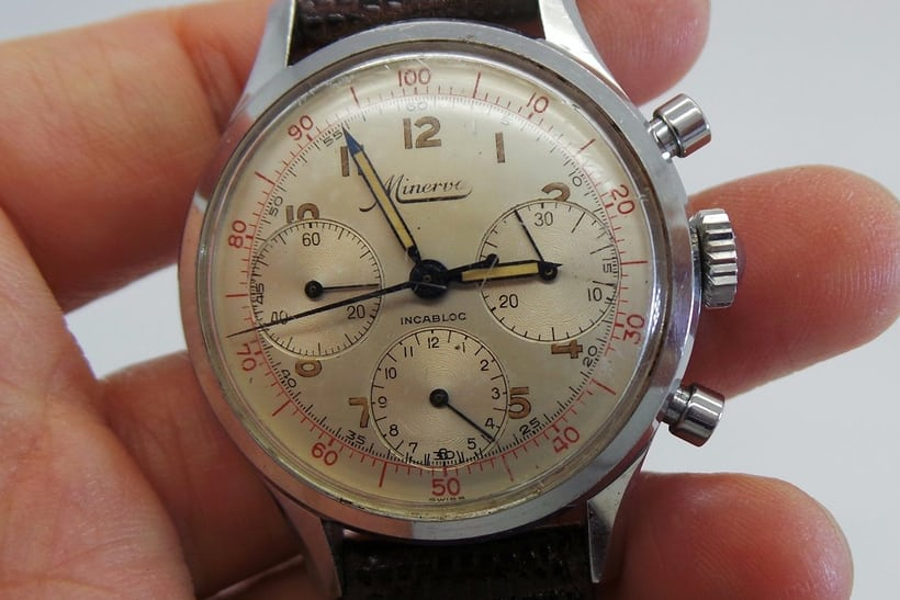 Minerva Chronograph Reference VD712